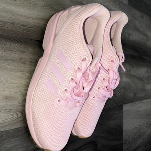 Pink adidas women's shoes